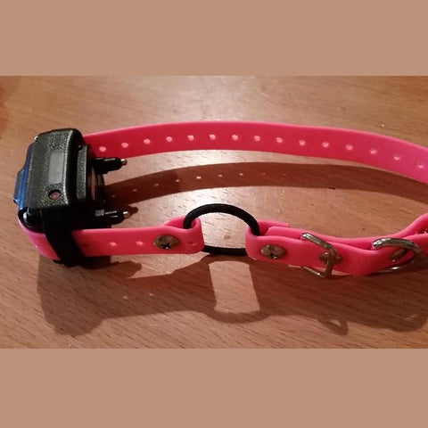 3/4 inch  For the small dog  - Small Biothane Buckle Collar 18-Inches  with bungee - various colours