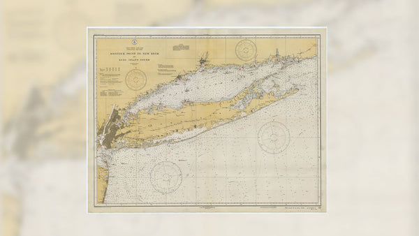 New York, Long Island & New Jersey Maps