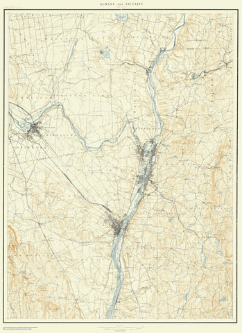 Albany and Vicinity Map