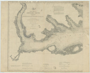 Albemarle Sound Map - 1880