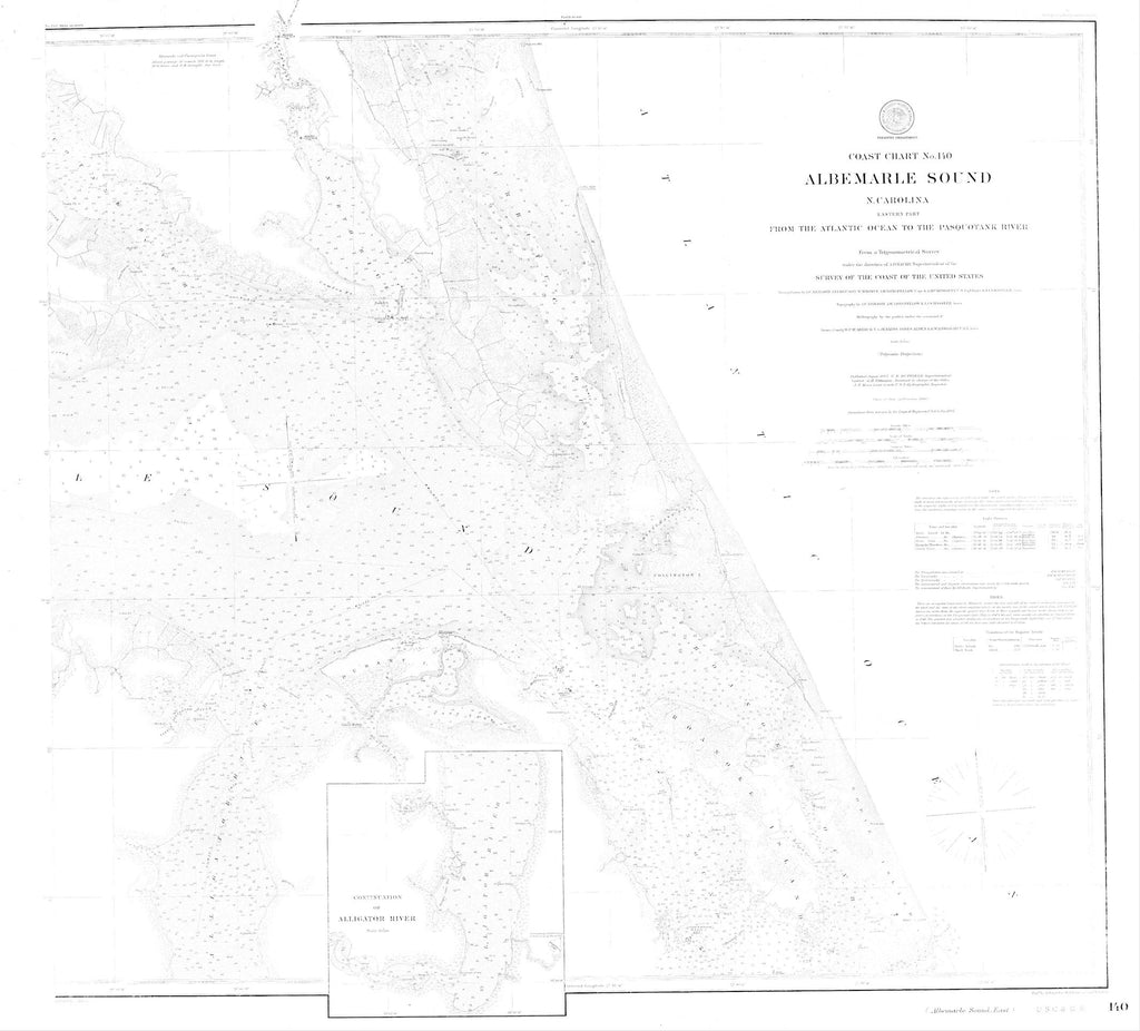 Albemarle Sound Map