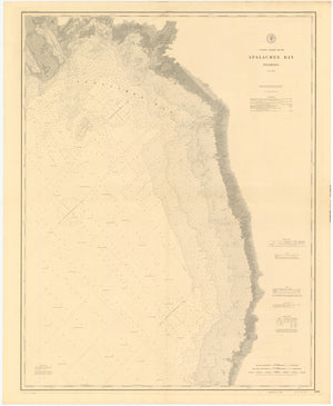 Apalachee Bay Map - 1889