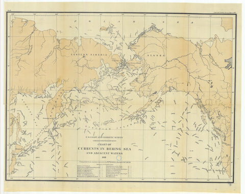 Bering Sea Currents - 1880