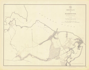 Birthplace of George Washington - Map 1897