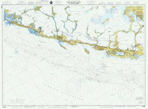 Blackwater Sound to Matecumbe Map 1997