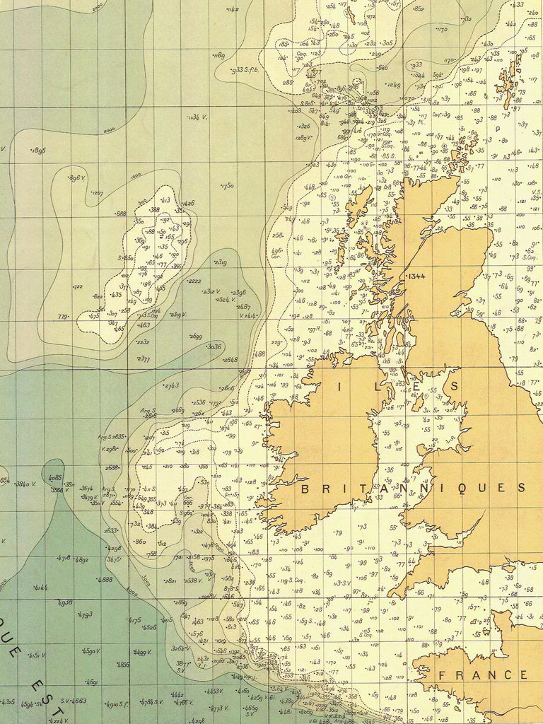British Isles Map 1905