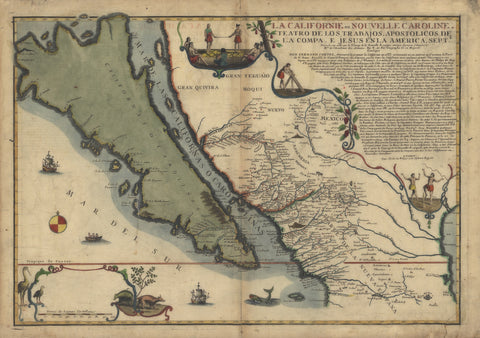 California Map 1535
