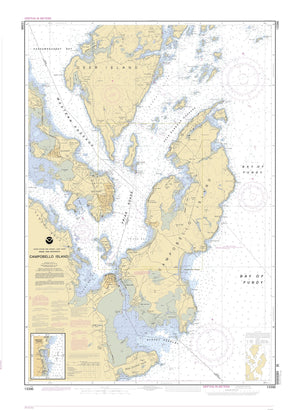 Campobello Island Map - 2001