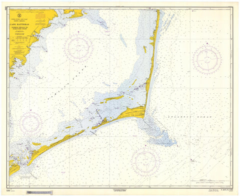 Cape Hatteras - Wimble Shoals to Ocracoke Inlet 1964