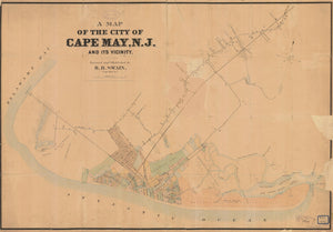 Cape May Map 1930