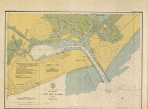 Cape May Harbor Map