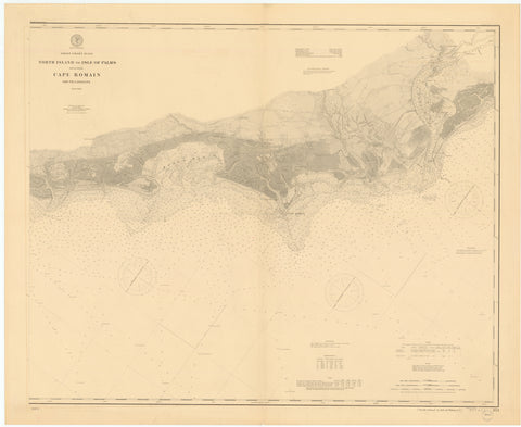 Cape Romain - North Island to Isle of Palms Map - 1900