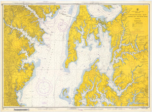 Chesapeake Bay - Eastern Bay & South River 1967