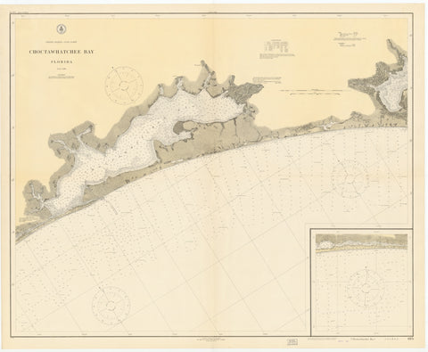 Choctawhatchee Bay Map 1922