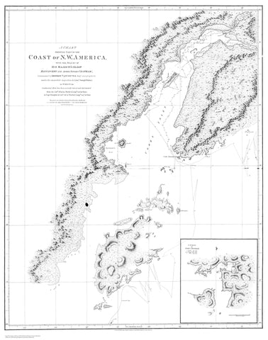 Coast of NW America - Cook Inlet Map