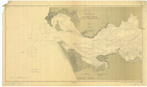 Columbia River Map - 1913
