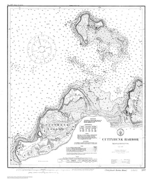 Cuttyhunk Map (B&W)
