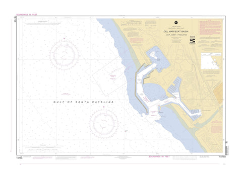 Del Mar Boat Basin Map - 2002