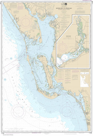 Estero Bay to Lemon Bay Map - 2015