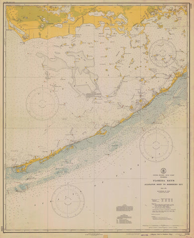 Florida Gulf Of Mexico Maps Tagged Sombrero Key Nautical