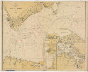 Hampton Roads Map - 1923