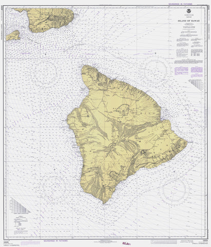 Hawaii Historical Map 1978