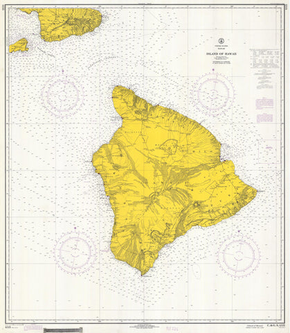 Hawaii Historical Map 1970