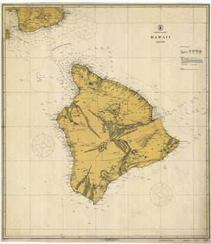 Hawaii Map 1917