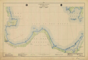 International Boundary Map - Lake of the Woods to Lake Superior #2
