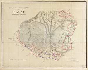 Kauai Map - 1903