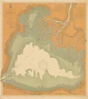Lake St. Claire Map - 1903