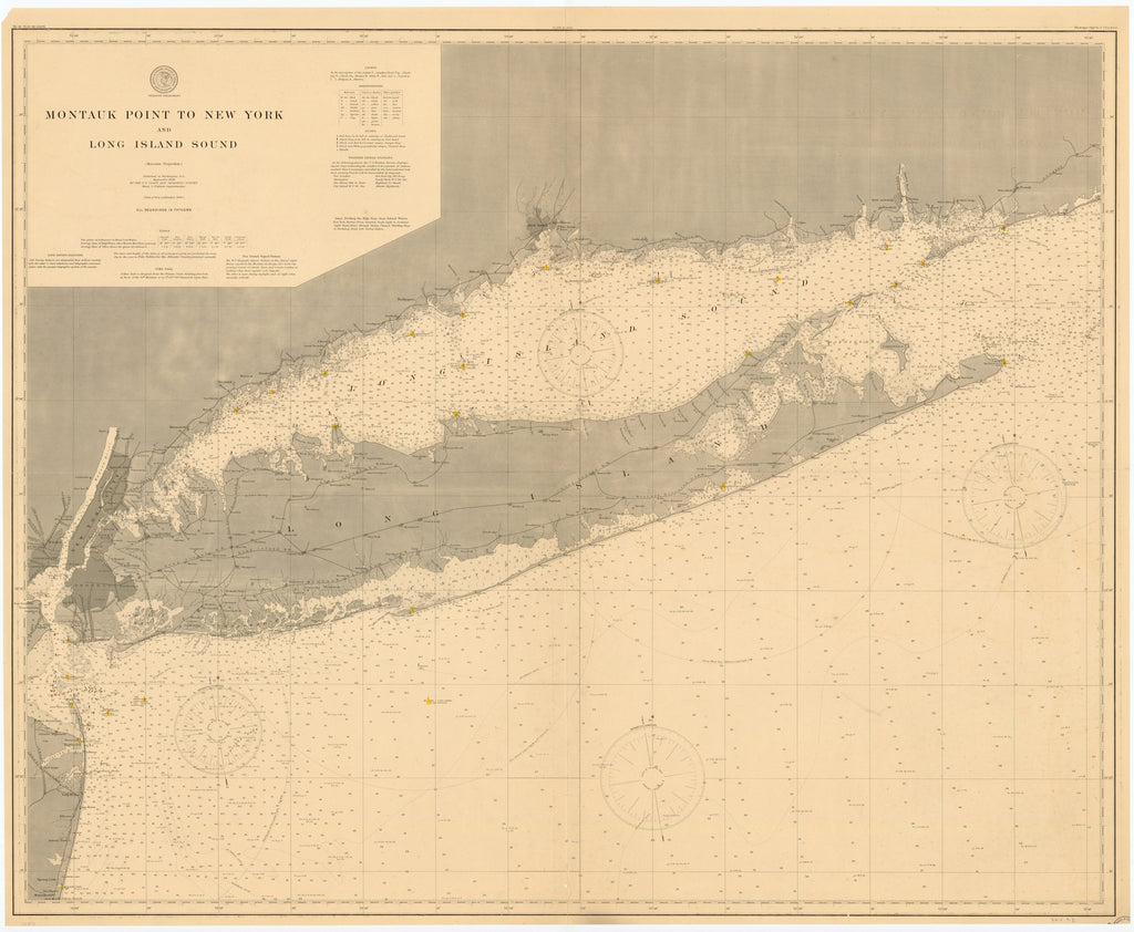 Long Island Historical Map - 1899