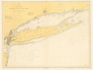 Approaches to New York & Long Island Map - 1941