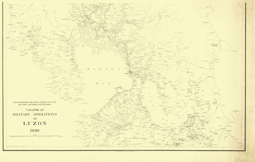 Luzon Map - 1899