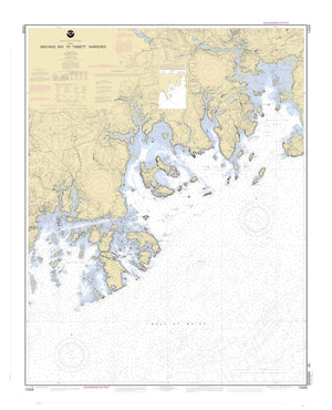 Machais Bay to Tibbett Narrows Map - 2004
