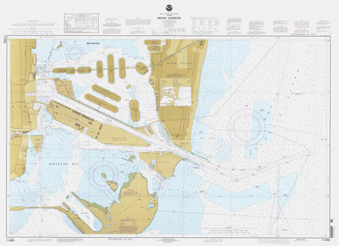 Miami Harbor Map - 1997