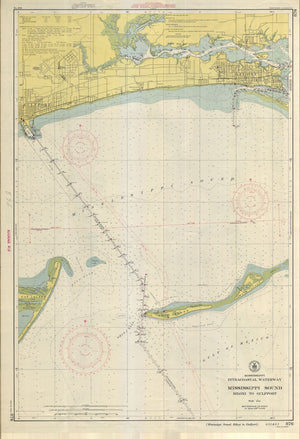 Mississippi Sound - Biloxi to Gulfport Map