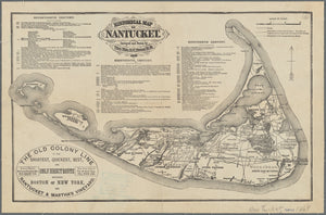 Nantucket Map - 1869