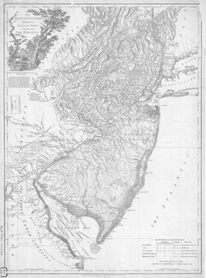 New Jersey Map - 1777