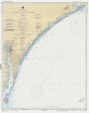 New River Inlet to Cape Fear - 1987