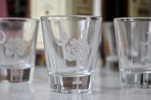 Custom GPS Coordinates Shot Glass