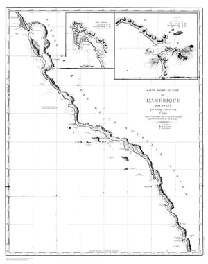 Santa Barbara Map (B&W)