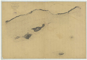 Santa Barbara Channel (Santa Monica to Pt. Conception) Map - 1881