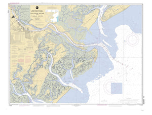 Savannah River & Wassaw Sound Map - 2004
