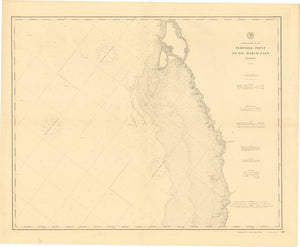 Seminole Point to Big Marco Pass Map - 1893