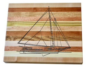 Skipjack Wooden Serving Board