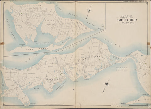 Southold (Part) - Long Island Map