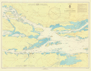 St. Lawrence River - Ironsides Island to Bingham Island 1945