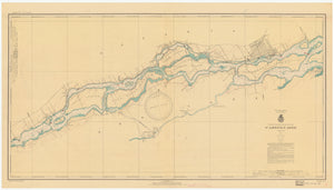 St. Lawrence River Chart #11 - 1937
