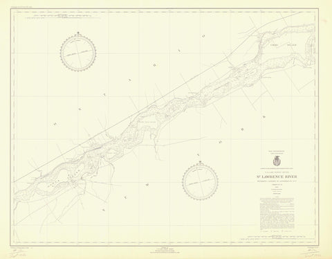 St. Lawrence River Chart #12 - 1946